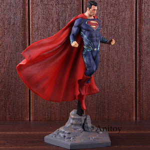 DC Superman Figure IRON STUDIOS Justice League Superman Action Figure Super Man PVC Collectible Model Toy - Veve Geek