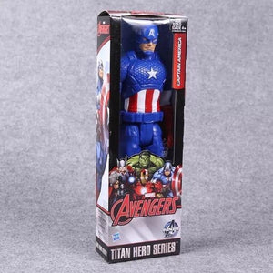 "12""30CM Super Hero Avengers Action Figure Toy Captain America,Iron Man,Wolverine,Spider-Man,Raytheon Model Doll Kids Gift - Veve Geek"