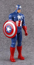 "Load image into Gallery viewer, 12""30CM Super Hero Avengers Action Figure Toy Captain America,Iron Man,Wolverine,Spider-Man,Raytheon Model Doll Kids Gift - Veve Geek"