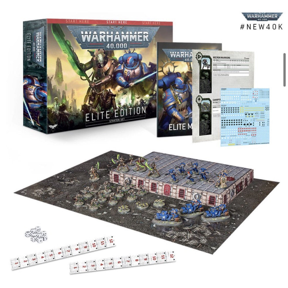 Set Warhammer 40.000 Elite Edition