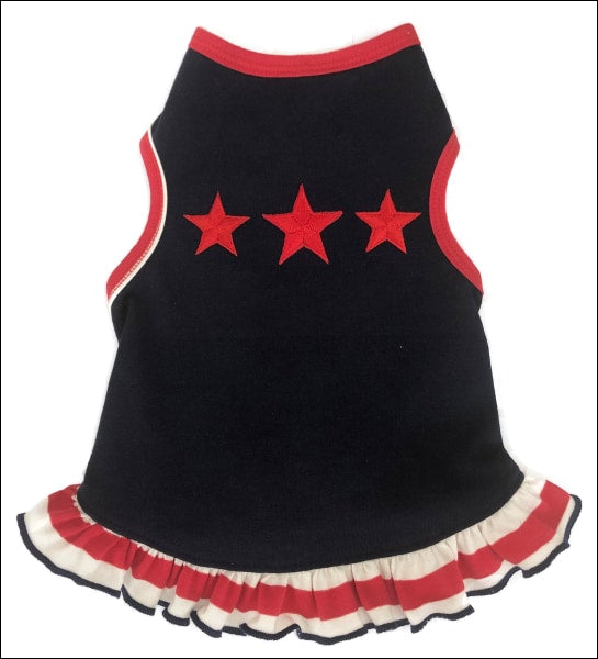 3 Stars Navy Dog Dress