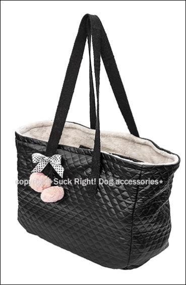 Black And Dots Pet Carrier