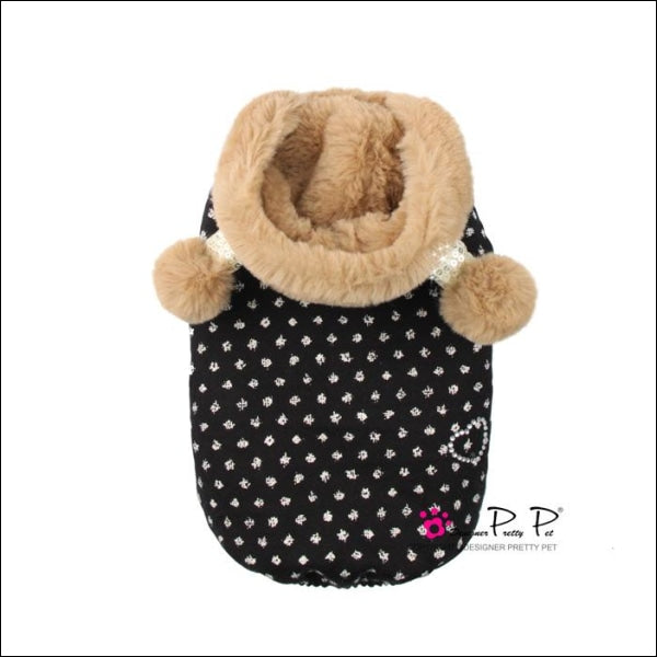 Bom Dog Coat - Brown