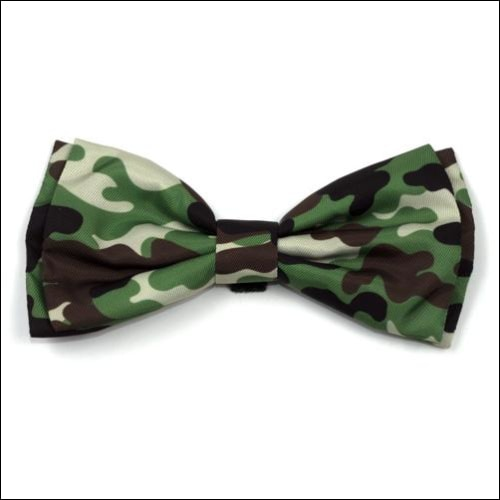 Camo Brown Bow Tie
