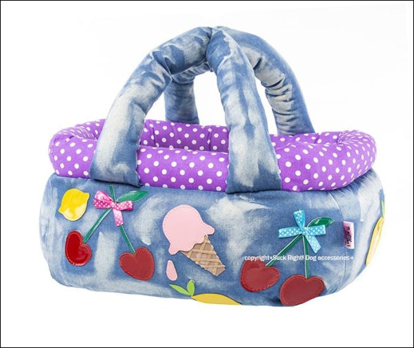 Fruits Ice Cream Basket Dog Carrier