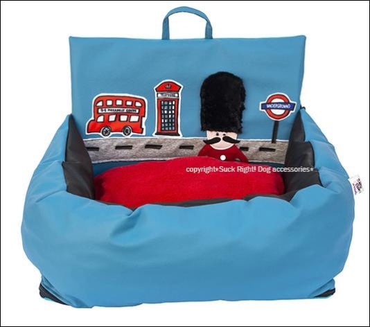 God Save The Queen Driving Kit Car Seat