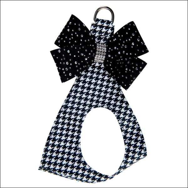 Houndstooth Stardust Black Nouveau Bow Step In