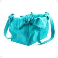Luxury Purse Nouveau Bow Pet Carrier