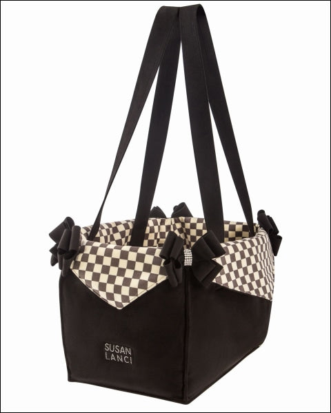 Luxury Purse Windsor Check Pet Carrier