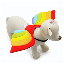 Rainbow Dog Wings