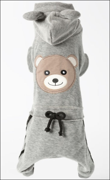 Sparkling Bear Dog Jumpsuit