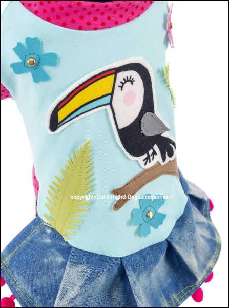Toucan Dog Dress