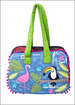 Tropical Toucan Zipper Dog Carrier