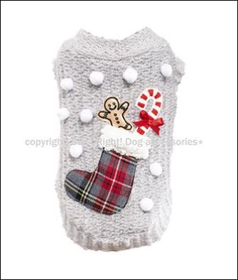 Xmas Stocking Dog Sweater
