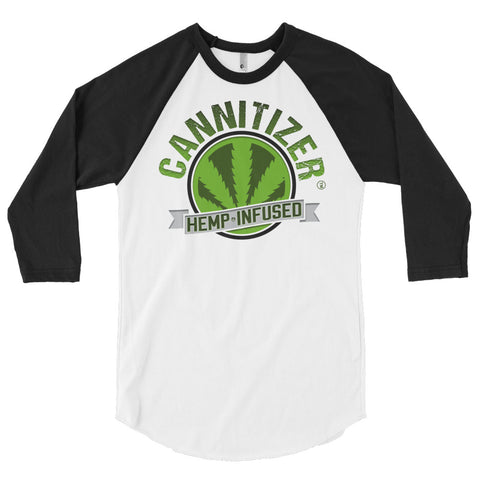 Cannitizer 3/4 sleeve raglan shirt