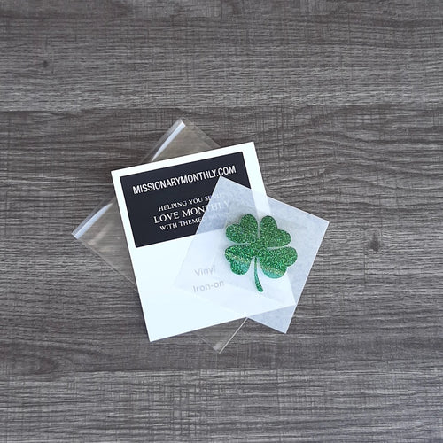 Clover vinyl iron on