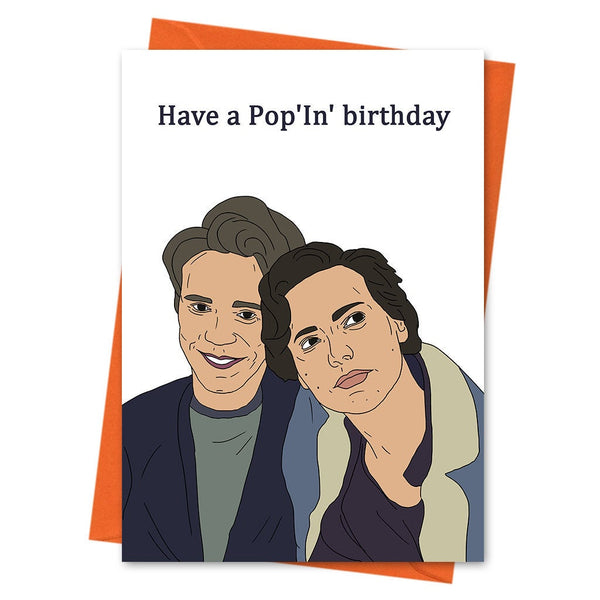 Riverdale Card, Riverdale Birthday Card, Jughead Jones Card Archie Andrews Card - Have a Pop'In Birthday Jughead Jones Archie Greeting Card
