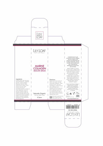 Marine Collagen Delicate Serum - Organic