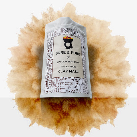 Bentonite Clay Mask By AfroSouk