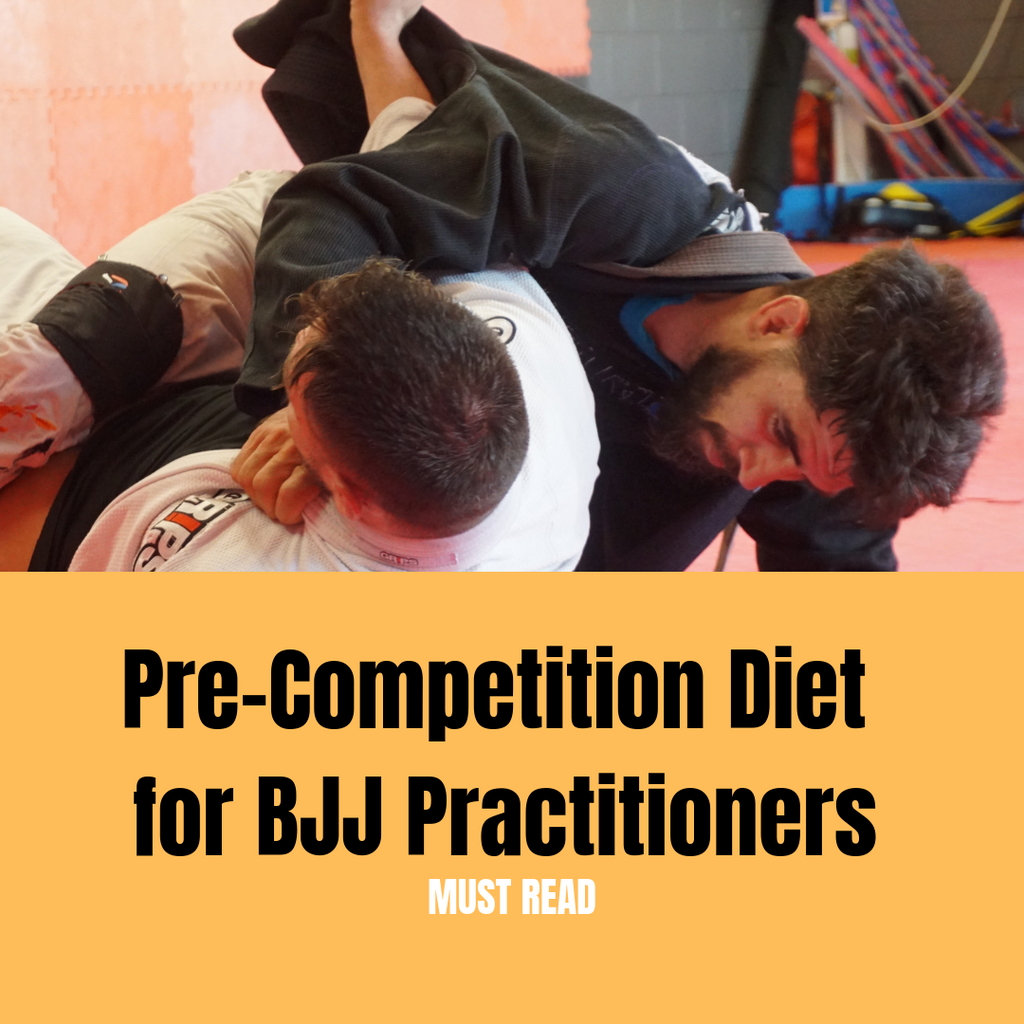 Pre-Competition Diet for BJJ Practitioners