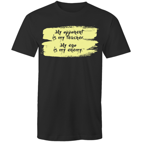 Mens Martial Arts T-Shirt - My Opponent - Sportage