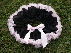 Black And Light Pink Baby Tutu