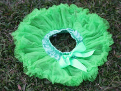Green Solid Baby Tutu :: New ::