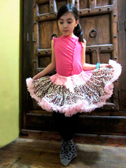 Light Pink Leopard Print Tutu