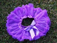 Purple Solid Baby Tutu :: New ::