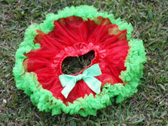 Red and Green Baby Tutu :: New ::