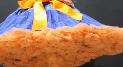 Royal Blue Orange Tutu