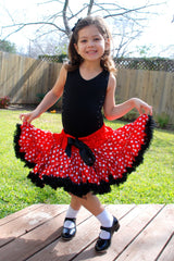 Minnie Red White Polka Dot Exrta Full Tutu