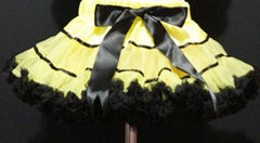 Yellow And Black With Trim Tutu