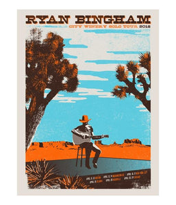 Ryan Bingham City Winery 2018 Tour Poster