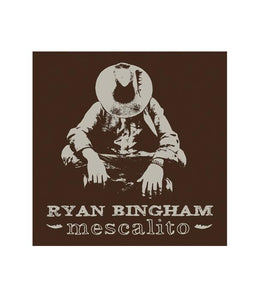 Ryan Bingham Mescalito Sticker (Brown)