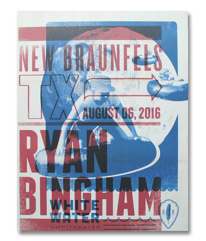 Ryan Bingham Whitewater Ampitheater 2016 Poster