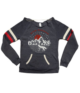 Ryan Bingham Coyote Womens Crewneck Sweatshirt