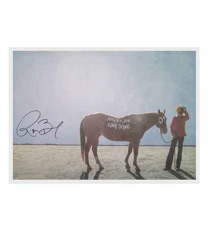 Ryan Bingham American Love Song Art Print (Signed)