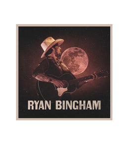 Ryan Bingham Acoustic Tour Sticker