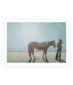 Ryan Bingham American Love Song Art Print