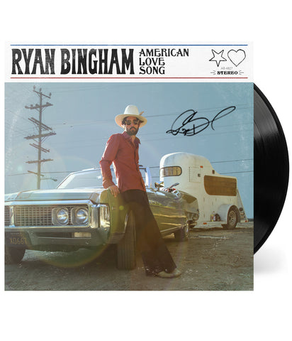 Ryan Bingham - American Love Song Vinyl (Signed)