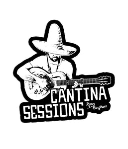 Ryan Bingham Cantina Sessions Sticker