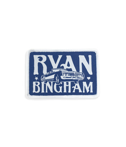 Ryan Bingham Car Logo Patch (Blue)