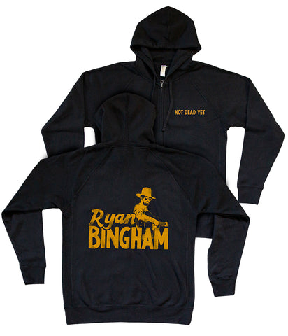 Ryan Bingham Not Dead Yet Zip Hooded Sweatshirt
