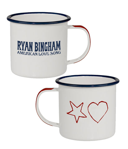 Ryan Bingham American Love Song Enamel Coffee Mug