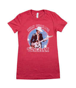 Ryan Fucking Bingham Womens Shirt (Red)