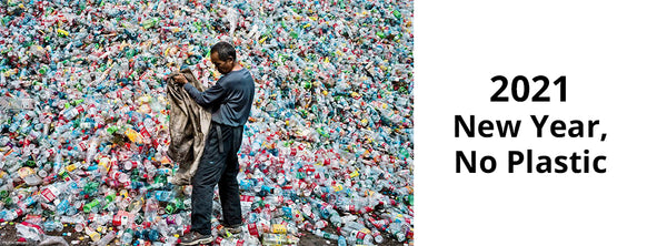 New Year, No Plastic: A Pledge to Reduce 1,000,000 Plastic Bottles From Landfills