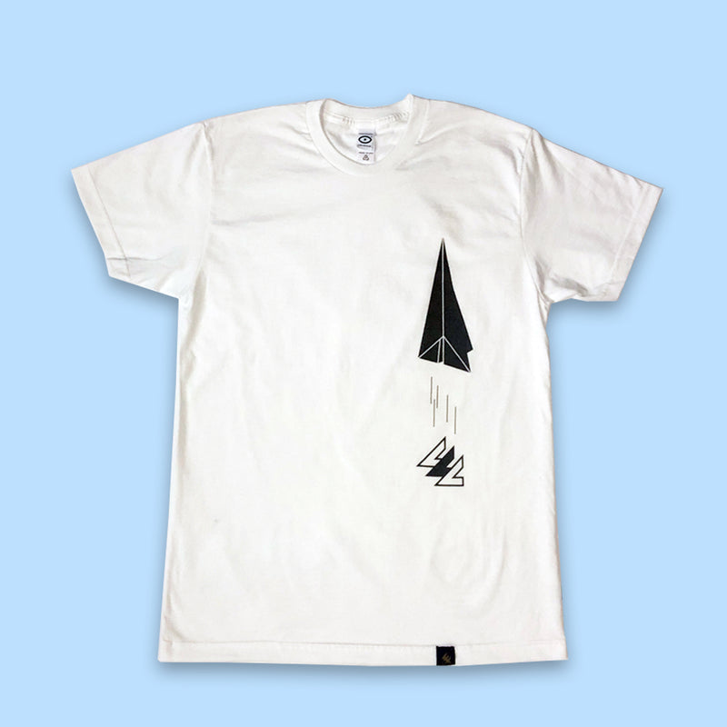 Paper Airplane Tee - PILLLAR Skateboards
