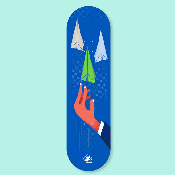 Paper Airplane - PILLLAR Skateboards