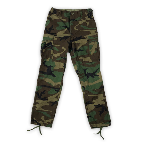 Vintage: Military Issue Camo Cargo Pants 32W-35L - PILLLAR Skateboards
